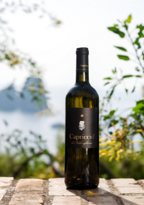 Capriccio of Falanghina.Capri Moonlight. Wine Capri