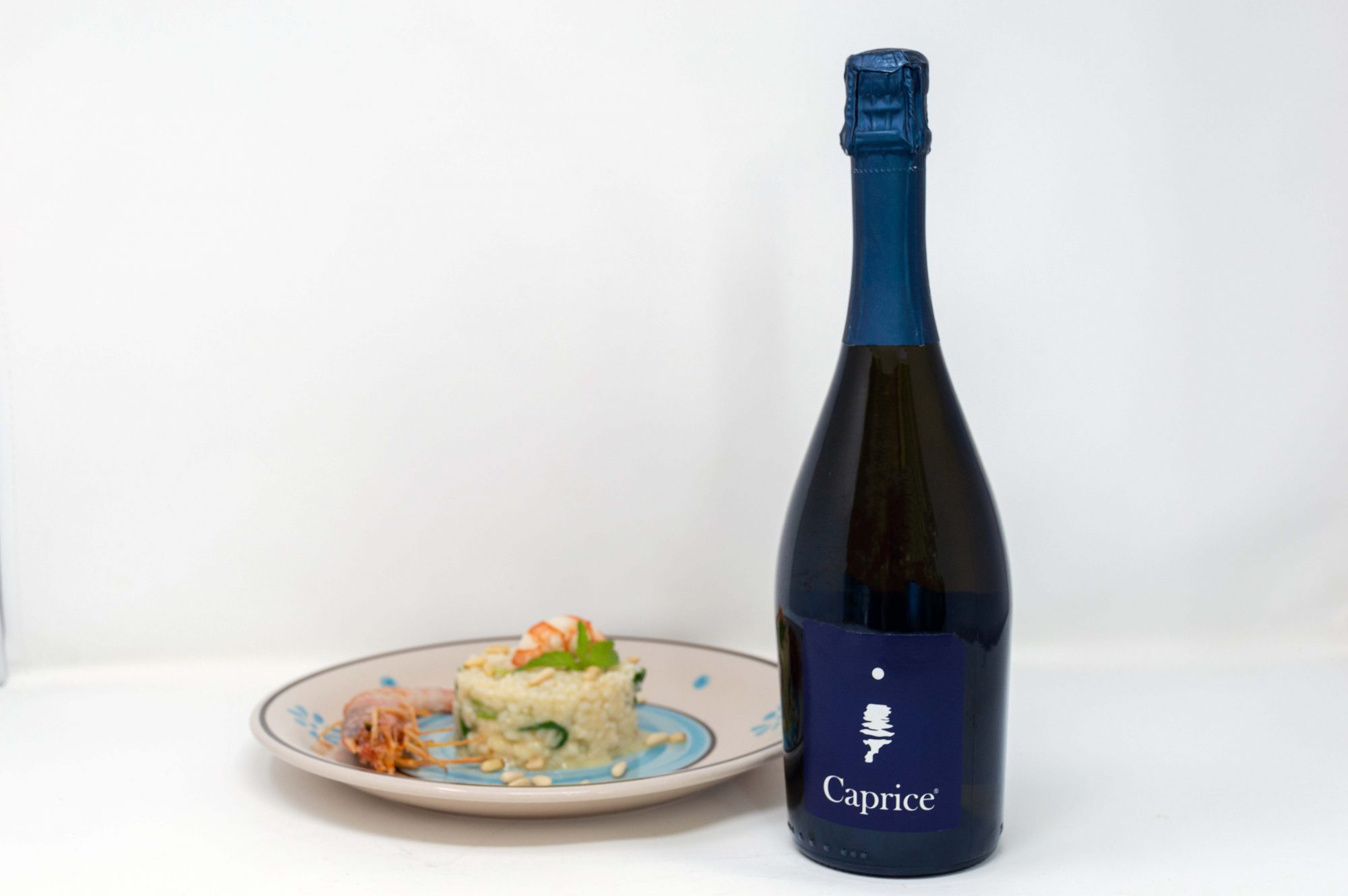 "Risotto con le bollicine ""Capri Moonlight"""