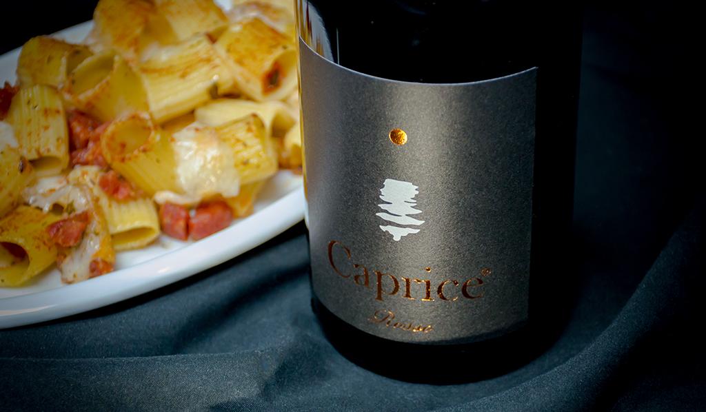 """Un piatto calabrese ed un vino campano: timballo di nduja e cacio silano e """"Caprice rosso""""🌶🍷"""
