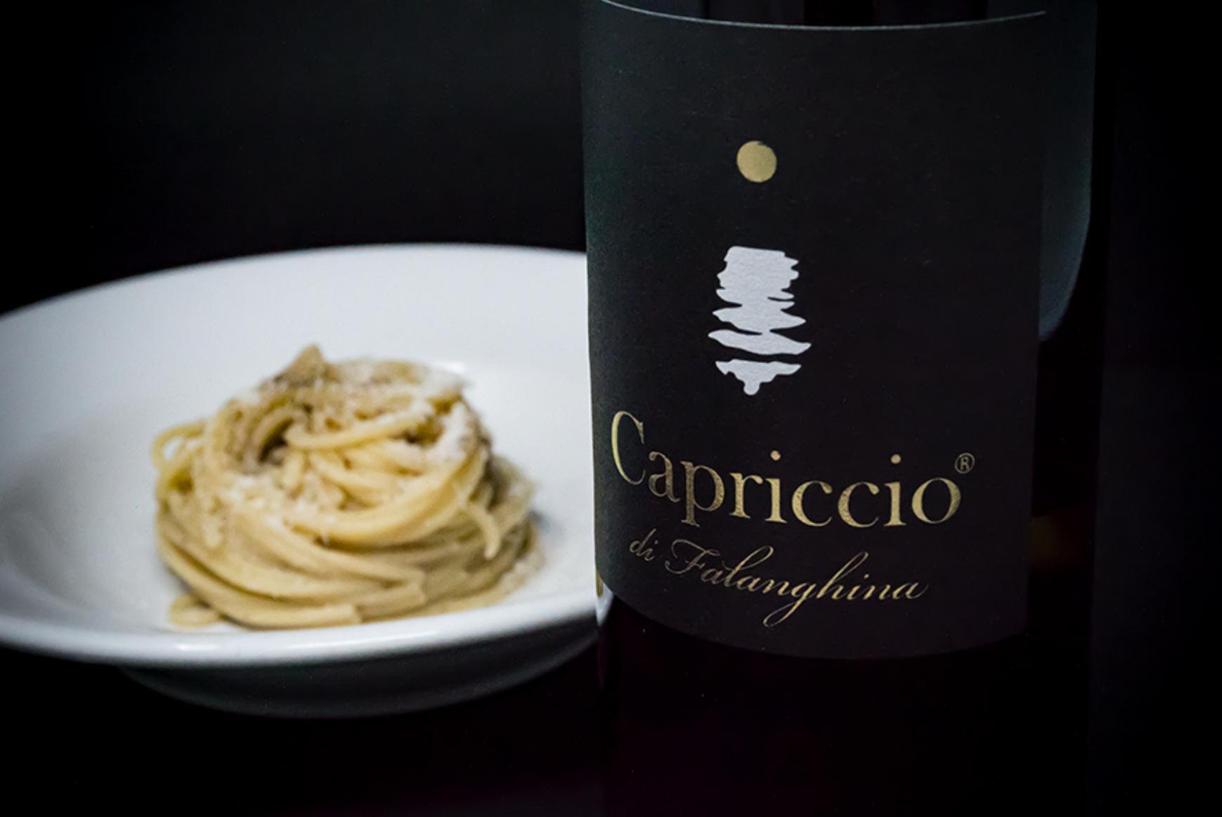 """Il """"Capriccio di Falanghina"""": il vino giusto per gli spaghetti cacio e pepe 🍝"""